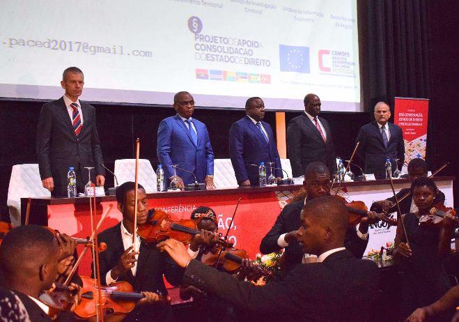 Conferência inaugural Boa governação, Estado de Direito e Políticas Criminais - 5 de junho 2017, Angola - Sessão de abertura