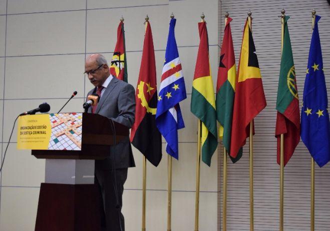 Conferência Organização e Gestão da Justiça Criminal - 28 de setembro 2017, PGR - Maputo  José Norberto Carrilho, Juiz Conselheiro do Tribunal Supremo