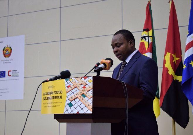 Conferência Organização e Gestão da Justiça Criminal - 28 de setembro 2017, PGR - Maputo  Arlindo Langa, Secretário Permanente do Ministério da Justiça
