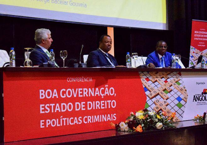 Conferência inaugural Boa governação, Estado de Direito e Políticas Criminais - 5 de junho 2017, Angola - 1º painel