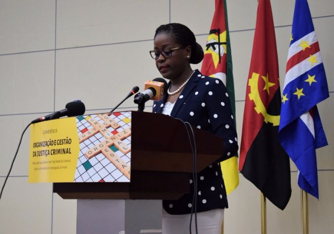 Conferência Organização e Gestão da Justiça Criminal - 28 de setembro 2017, PGR - Maputo | Ana Maria Gemo, Diretora do Gabinete Central de Combate à Corrupção