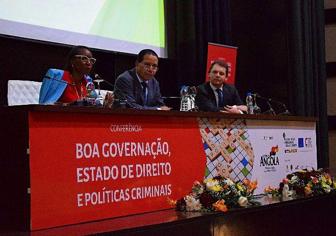 Conferência inaugural Boa governação, Estado de Direito e Políticas Criminais - 5 de junho 2017, Angola - 2º painel