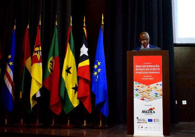 Conferência inaugural Boa governação, Estado de Direito e Políticas Criminais - 5 de junho 2017, Angola - Sessão de encerramento