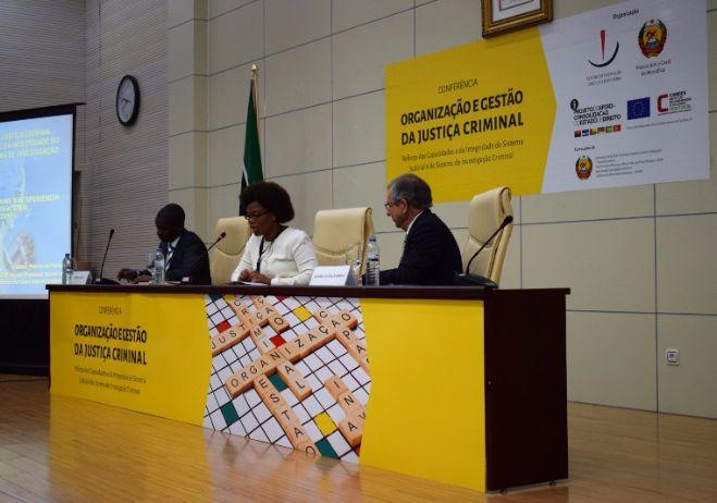 Conferência Organização e Gestão da Justiça Criminal - 28 de setembro 2017, PGR - Maputo   1º painel