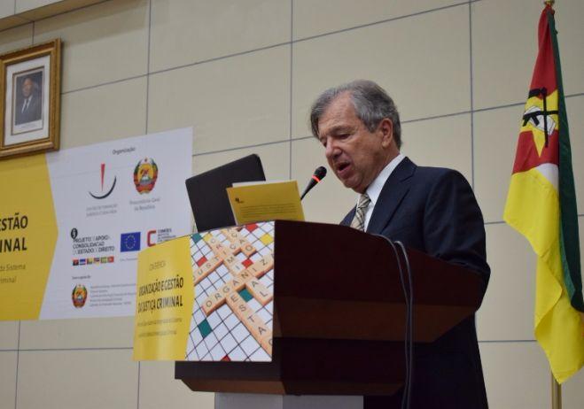 Conferência Organização e Gestão da Justiça Criminal - 28 de setembro 2017, PGR - Maputo   Vladimir Passos de Freitas, Juiz Federal Desembargador (Brasil)