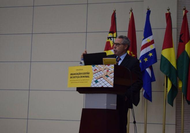 Conferência Organização e Gestão da Justiça Criminal - 28 de setembro 2017, PGR - Maputo | José Mouraz Lopes, Juiz Conselheiro e consultor científico do PACED (Portugal)