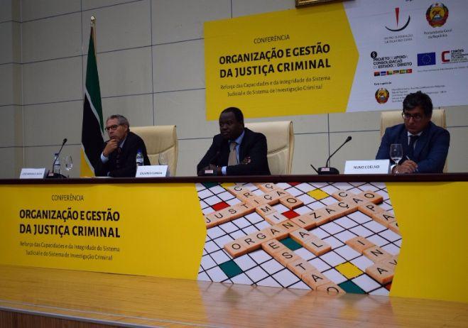 Conferência Organização e Gestão da Justiça Criminal - 28 de setembro 2017, PGR - Maputo   2º painel
