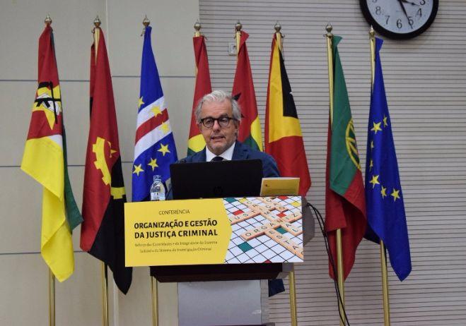 Conferência Organização e Gestão da Justiça Criminal - 28 de setembro 2017, PGR - Maputo   Galileo d'Agostino, Magistrado da Corte di appelo de Roma (Itália)