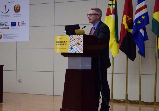 Conferência Organização e Gestão da Justiça Criminal - 28 de setembro 2017, PGR - Maputo | José Igreja Matos, Juiz Desembargador (Portugal)