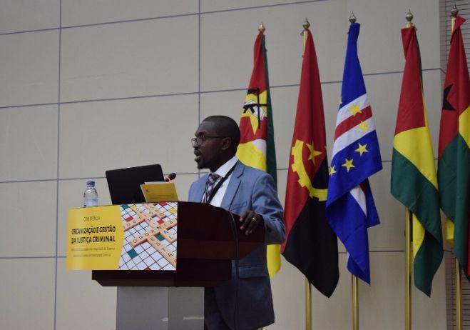 Conferência Organização e Gestão da Justiça Criminal - 28 de setembro 2017, PGR - Maputo | Hermenegildo Chambal, Presidente do Tribunal Judicial do Distrito de Machava (Moçambique)