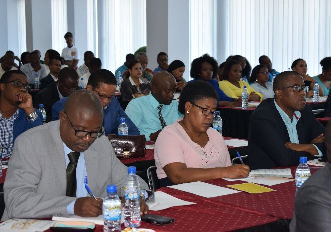 Conferência Organização e Gestão da Justiça Criminal - 26 de setembro 2017, Nampula