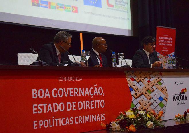Conferência Boa governação, Estado de Direito e Políticas Criminais - 5 de junho 2017, Luanda