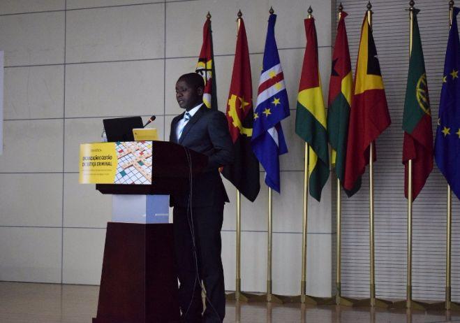 Conferência Organização e Gestão da Justiça Criminal - 28 de setembro 2017, PGR - Maputo | Ribeiro Cuna, Procurador Provincial da República-Chefe, Inhambane (Moçambique)