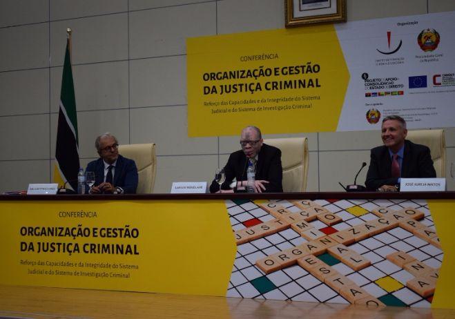 Conferência Organização e Gestão da Justiça Criminal - 28 de setembro 2017, PGR - Maputo  3º painel