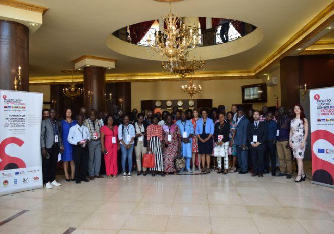 Conferência Internacional sobre Organização e Gestão da Justiça Criminal, 31 de outubro de 2019, Bissau.