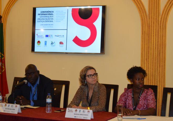 Conferência Internacional sobre Organização e Gestão da Justiça Criminal, 31 de outubro de 2019, Bissau