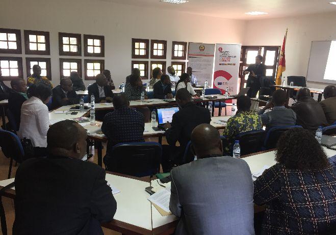 Seminário formativo em gestão judicial e gestão da investigação criminal - 29 de setembro de 2017, Maputo