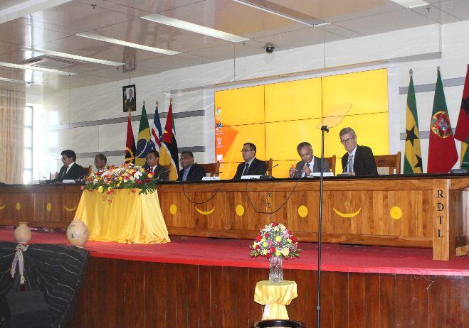 Conferência Tribunais no Estado de Direito - 29 a 27 de julho 2016, Díli