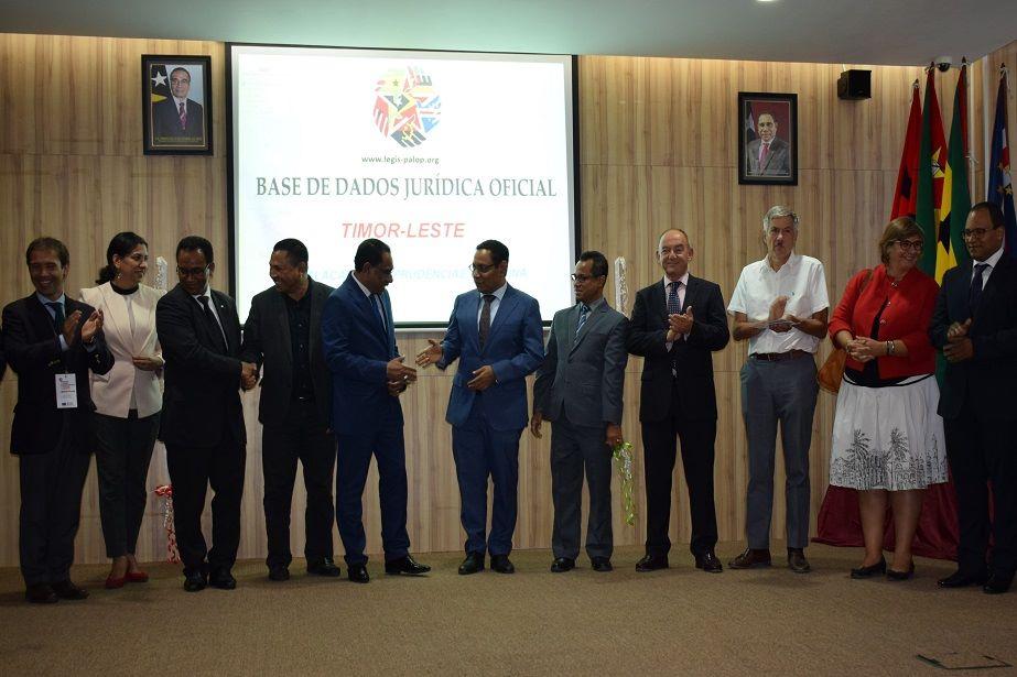 Extensão da Legis-PALOP a Timor-Leste