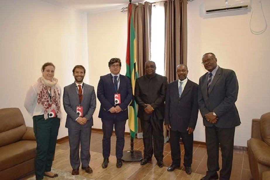 Equipa de assistência técnica do PACED realiza missão em São Tomé e Príncipe