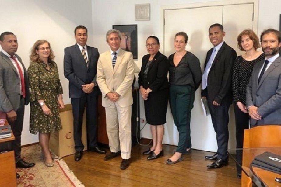 Presidente do Tribunal de Recurso de Timor-Leste visita Camões, I. P.