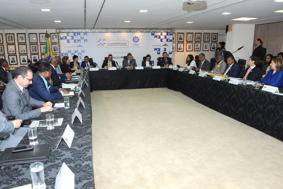 PACED apresentado na 15ª Conferência dos Ministros da Justiça da CPLP
