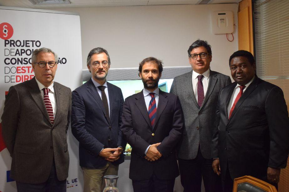 Projeto de Apoio à Consolidação do Estado de Direito nos PALOP e Timor-Leste   Parceiros aprovam atividades de 2020