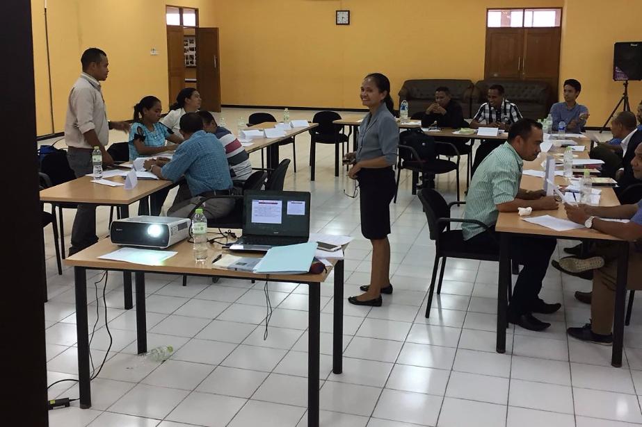 Timor-Leste: trabalho de equipa entre formadores nacionais e tutores portugueses