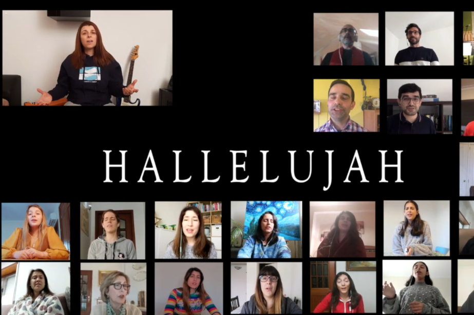 Hallelujah - Atuação do Coimbra Gospel Choir
