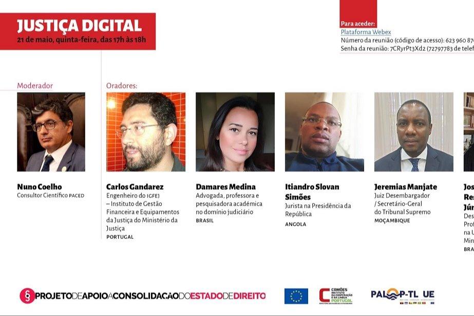 Ciclo de Conferências online sobre COVID-19 e Estado de Direito