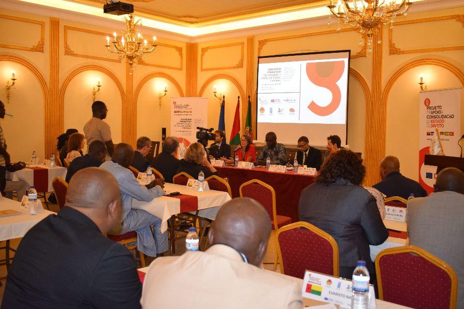 Bissau acolhe seminário formativo sobre organização e gestão da justiça criminal