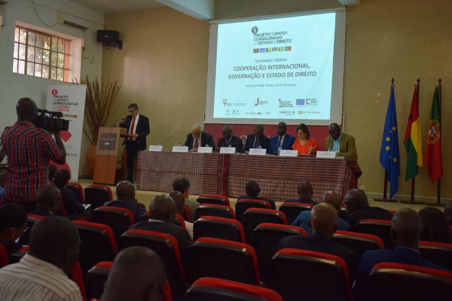 Cooperação Internacional e Estado de Direito em debate em Bissau