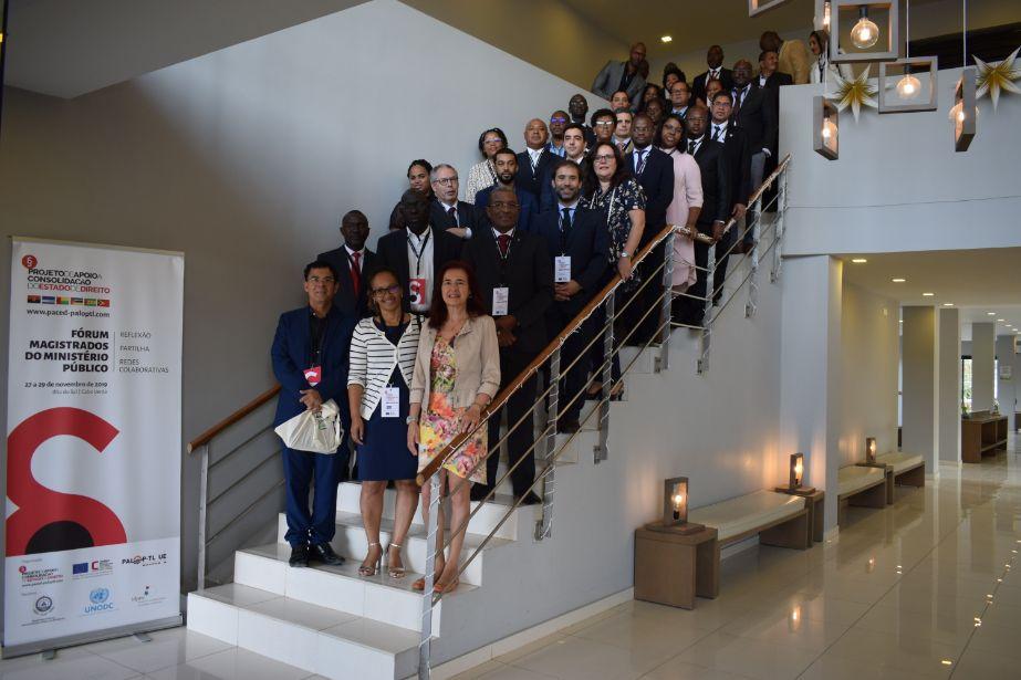 Projeto da União Europeia junta Magistrados dos Ministérios Públicos dos PALOP e Timor-Leste