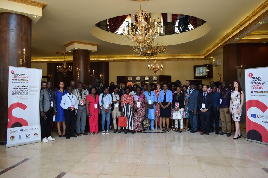 Conferência Internacional sobre organização e gestão da justiça criminal reúne atores judiciários da Guiné-Bissau