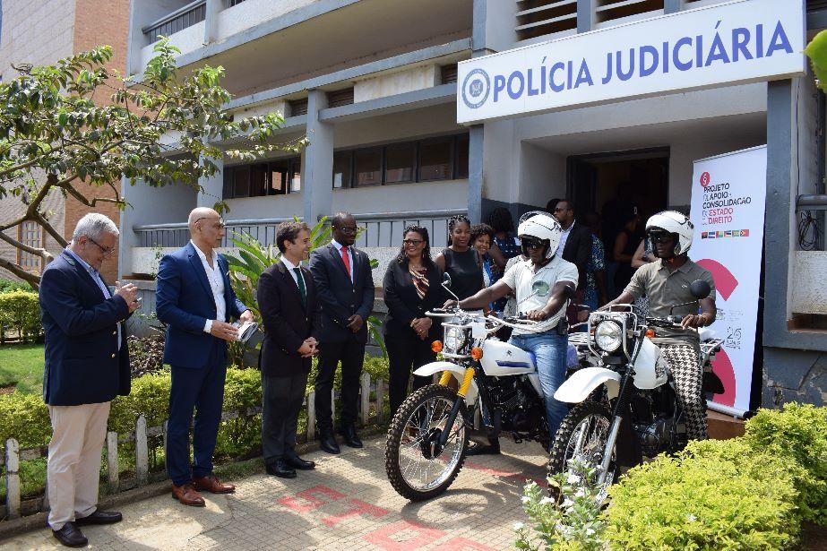 União Europeia e Camões, I.P. fortalecem Polícia Judiciária de São Tomé e Príncipe