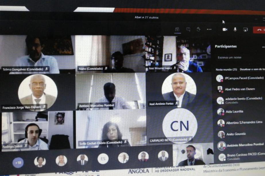 PACED apresenta resultados aos Serviços do Ordenador Nacional de Angola