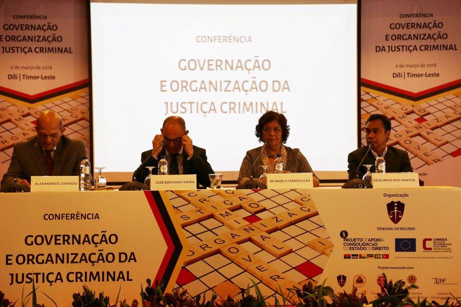 Conferência internacional sobre governação e organização da justiça criminal