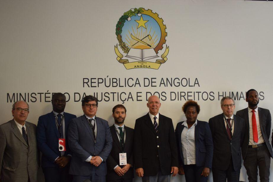 Equipa do PACED reúne com autoridades angolanas e prepara último ano de atividades