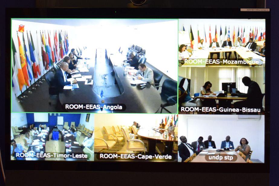 Comité de Seguimento Técnico: representantes dos seis países parceiros debateram atividades a realizar em 2018