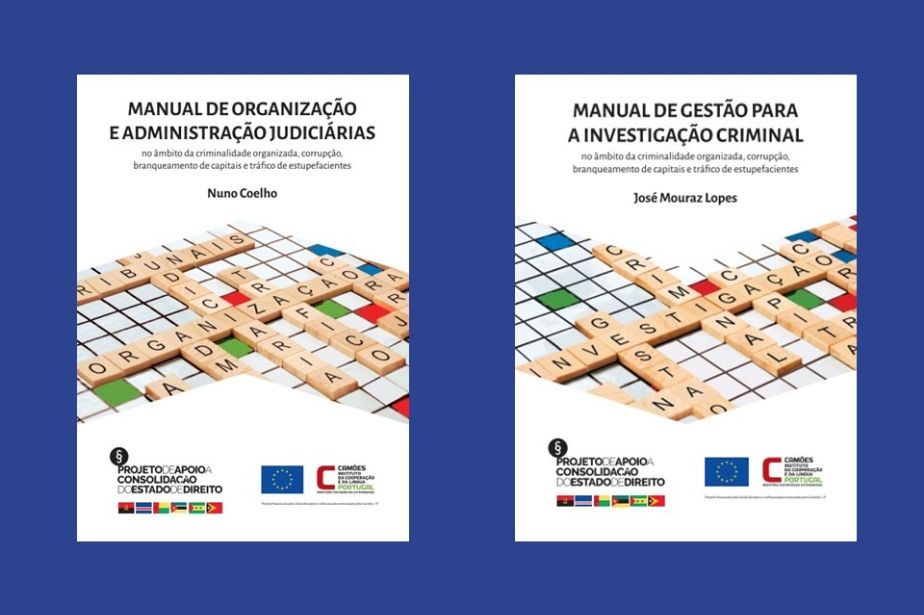 Novos manuais sobre gestão e organização do sistema judicial e da investigação criminal