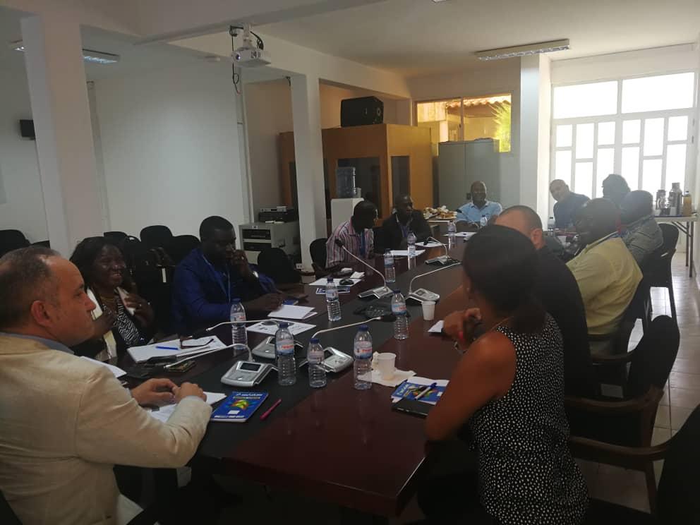 Ponto Focal do PACED na Guiné-Bissau participa em reunião do Grupo de Trabalho Judiciário