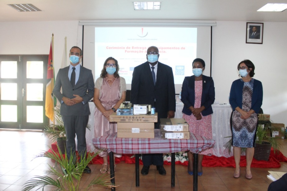 Moçambique: União Europeia e Camões, I.P. reforçam Centro de Formação Jurídica e Judiciária