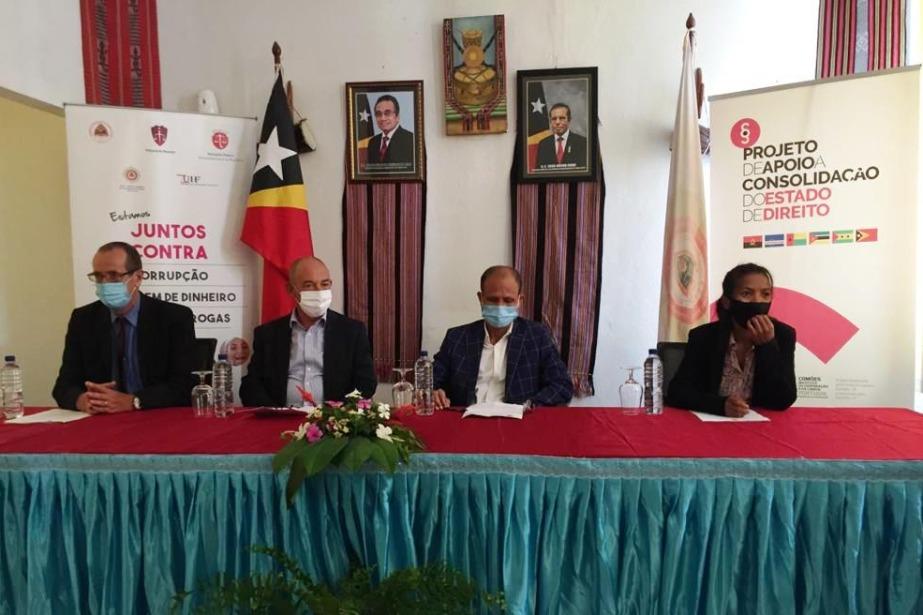 União Europeia e Cooperação Portuguesa fortalecem Polícia Científica de Investigação Criminal de Timor-Leste