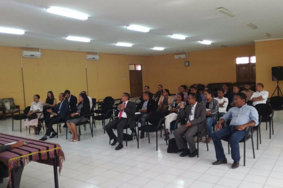 Ação de formação vai reforçar combate à corrupção, branqueamento e tráfico de estupefacientes em Timor-Leste