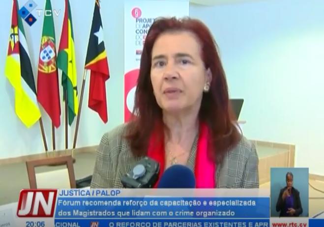Professora Doutora Anabela de Miranda Rodrigues, Presidente da Direção do Instituto de Direito Penal Económico e Europeu