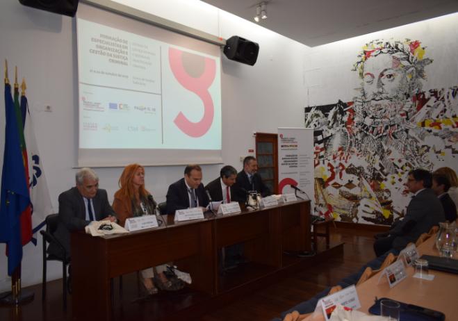 Formação de especialistas em organização e gestão da Justiça Criminal , 21 a 24 de outubro de 2019, Auditório do Camões, I.P., Lisboa