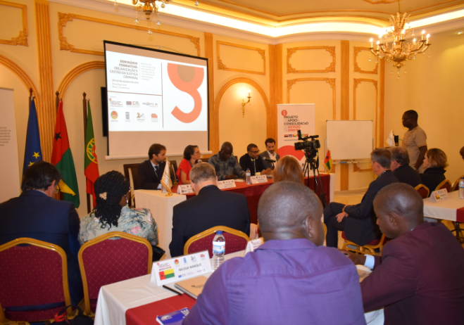 Seminário Formativo sobre Organização e Gestão da Justiça Criminal , 28 a 30 de outubro de 2019, Bissau.