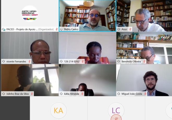 Grupo de Trabalho reuniu por videoconferência